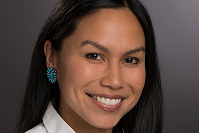 Honoring Native American Voices:  Warner Grad