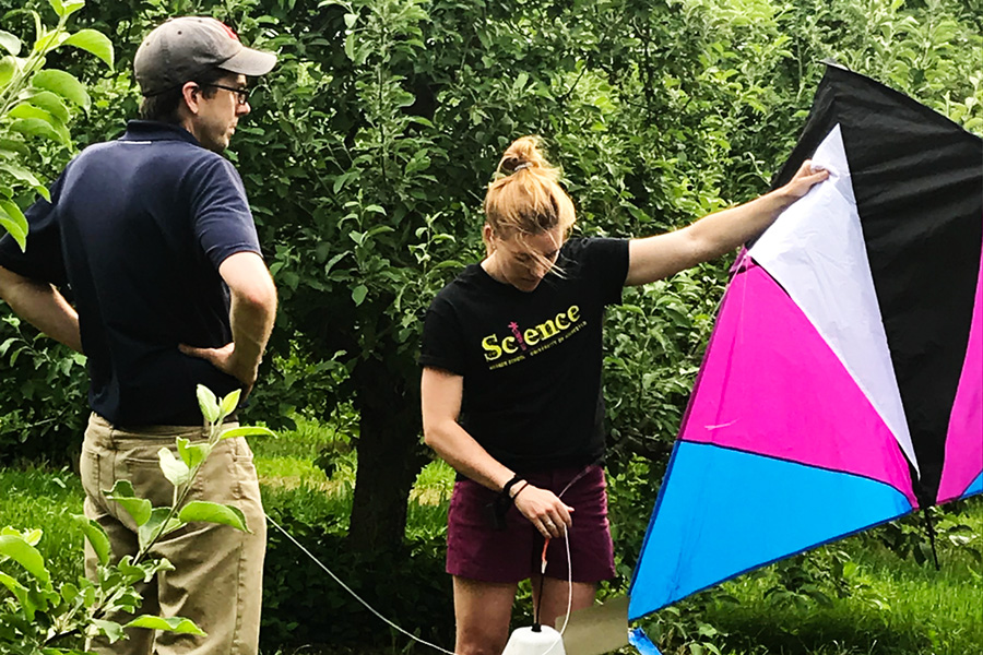 Get Real! Science Camp Scales Up (in the Air) This Summer