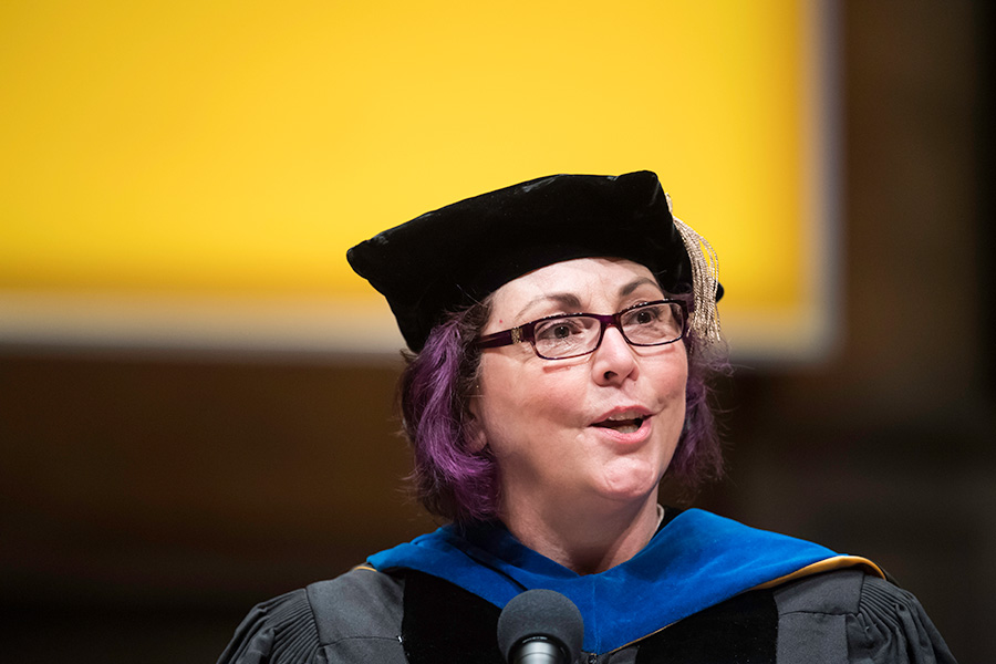 Joanne Larson's 2018 Commencement Speech