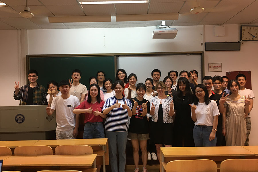 Wuhan students
