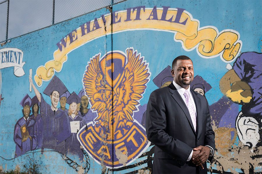 All in at East:  An In-Depth Look at the University's Partnership with East High