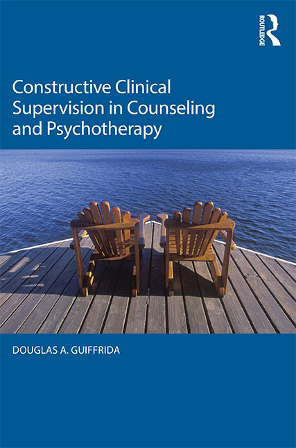Constructive Clinical Supervision book