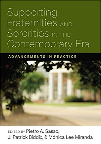 Supporting Fraternities and Sororities in the Contemporary Era book cover