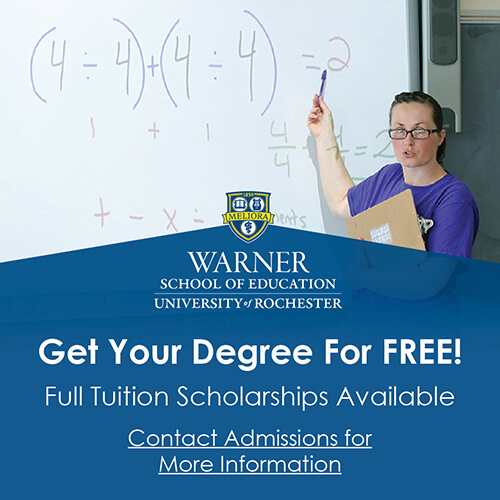 Math Teacher Education | Warner Graduate Programs