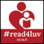 #read4luv on Valentine's Day:  Initiative Promotes Reading Aloud to Children